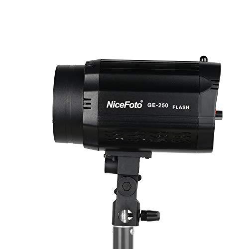 Fomito Nicefoto GE-250 5500K Mini-Studioblitz der GE-Serie für professionelle Studiofotografie