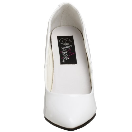 Pleaser Vanity-420, Escarpins femme Blanc