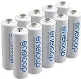 Panasonic eneloop 5th Generation AA (BK-3MCCE) Bag of 10 batteries