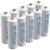 Panasonic eneloop 4 piles AA (BK - 3MCCE de 10 piles)