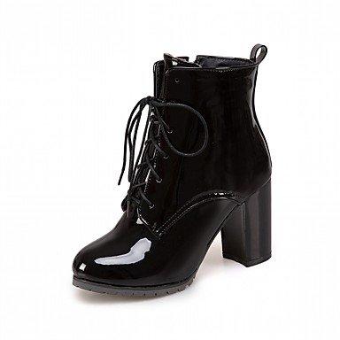 RTRY Scarpe Donna Pu Similpelle Autunno Inverno Comfort Novità Moda Stivali  Stivali Chunky Tallone Punta Tonda