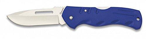 Albainox Taschenmesser mit Back-Lock 8cm Klinge Blau