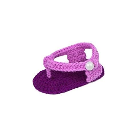 Chaussures Bébé, Reaso Bébés filles Chaussettes Lit crochet Casual main