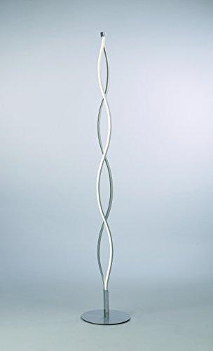 Mantra - Lámpara de pie led 21 Watios, colección Sahara, color cromo brillo.