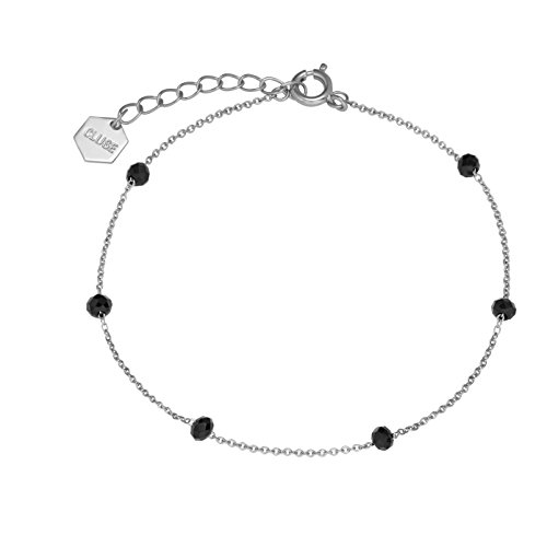 Cluse Damen-Kettenarmband Messing Kristall CLJ12013