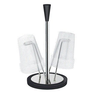 Giannini Glossy porte-verres Noir