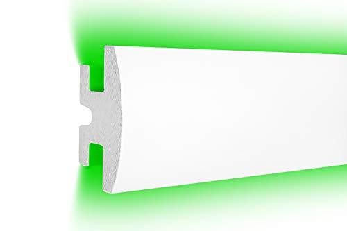 1,15 m | LED Profil | XPS | indirekte Beleuchtung | Trockenbau | lichtundurchlässig | Rigips | Tesori | 90x50mm | KD305
