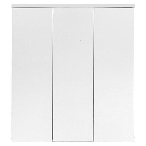 Trendteam Muebles, Madera, Blanco, 70 x 78 x 15 cm