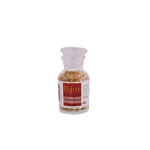 BiJos Select Incienso en frascos de Vidrio de Aproximadamente 60 ML de Incienso de Pino cembro; para...