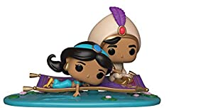 Funko- Pop Vinyl: Aladdin-Magic Carpet Ride Figura de Vinilo Movie Moment Viaje en Alfombra, (889698357609)