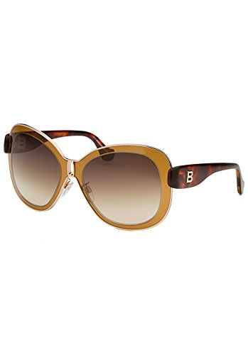 balenciaga-womens-0003-shiny-light-brown-tortoise-frame-gradient-brown-lens-metal-sunglasses