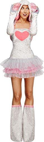 Smiffy's - 22796 Mauskostüm Kostüm Maus für Damen sexy Mäuschen Kleid Gr. 32-42