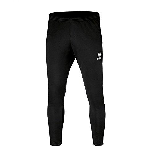 Key bestseller pantaloni da uomo (lungo) sottile con gamba (aderente appuntito) e chiusura lampo · Unisex Slim Fit zip pantaloni sportivi () in poliestere per Individual Sport & Team sport di Errea, nero, 3XL