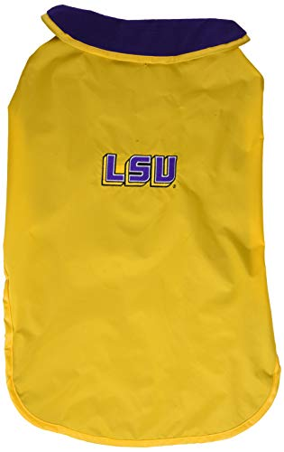NCAA Louisiana State Tigers Allwetterfeste Schutzbekleidung für Hunde, Unisex-Erwachsene, Team Color, X-Large State Tigers