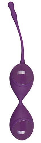ORION Liebeskugeln Love Training - lila Loveballs mit vibrierendem Schwingkern für effektives Beckenbodentraining und mehr Lustempfinden beim Sex (lila)