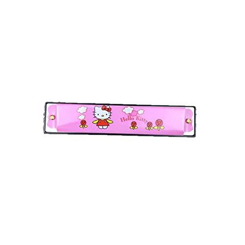GUYUEXUAN Cartoon-Mundharmonika, Spielzeug, Anfänger, interaktive Eltern-Kind-Spiele, Kt-Katzen, Spongebob, Sieben Marienkäfer, Elefanten, Vier Tiere ( Style : Kt cat )