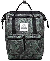 58c366d576e85 HotStyle DISA Fashion Blumen Damen Laptop Rucksack 12 Zoll (35x23x15cm)