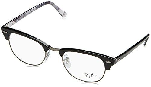 Preisvergleich Produktbild Ray-Ban - CLUBMASTER RX 5154, Rechteckig, [nd], Herrenbrillen, BLACK GREY CAMOUFLAGE(5649), 51/21/145