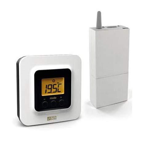 Delta Dore TYBOX 51506050622-Zone-Thermostat für Klimaanlage Installation-Wärmepumpe wendbar (Klimaanlage Zone)