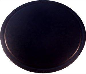 Grillstein aus glasiertem Cordierit 550x18mm mit Saftrille