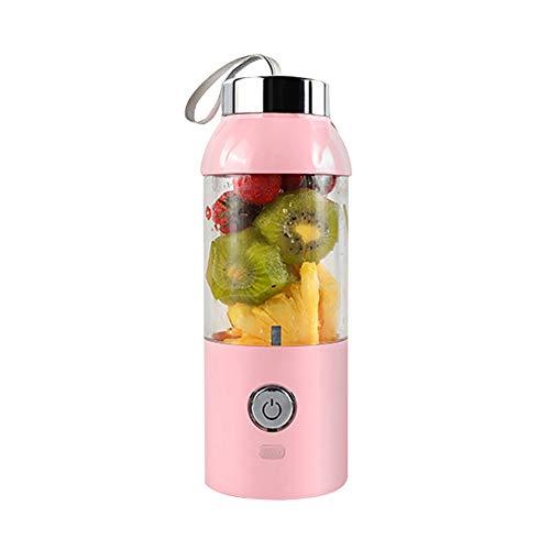 Tragbare usb elektrische entsafter tasse obst gemüse mixer wasserflasche mit ladekabel für haushalt gym reisebüro -