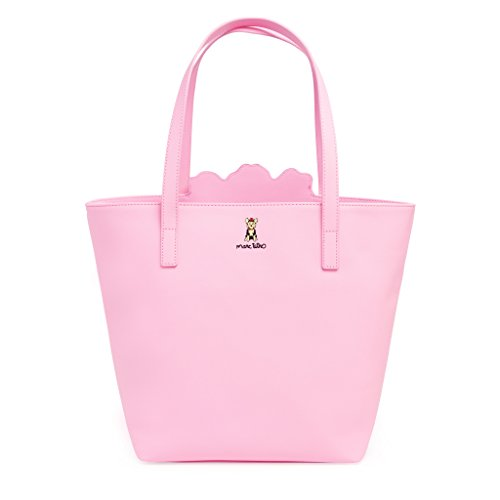 Marc Tero – Borsa con Pendente Plus Beau Perry Bag for Life Pink Yorkie