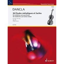 DANCLA - Estudios Melodicos (36) Op.84 para Viola (Muller Runte)