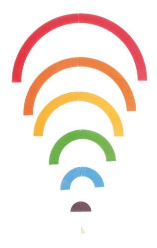 Mobiles Regenbogen Wasser-mobile