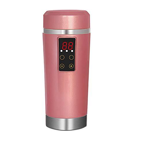 AWAKMER Auto Wasserkocher 350 ml Edelstahl Vakuum Isolierte Schnelle Heizung Isolierflasche...