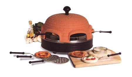 Pizza oven Pizza dome for 6 persons - the Original from Italy - Pizza dome