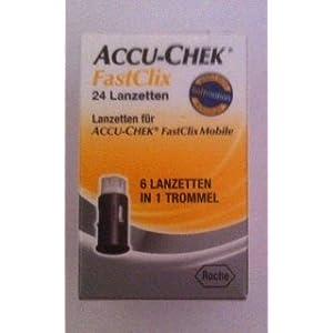 ACCU-CHEK ACCU CHEK FastClix Lanzetten – 24 St Lanzetten 07234971