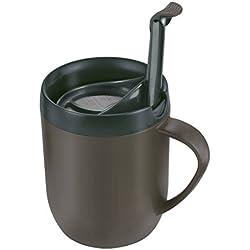 Zyliss HotMug E990001 - Taza térmica para café o té, color gris