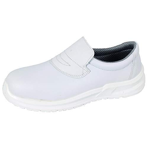 Blackrock SRC04, Unisex-Erwachsene Sicherheitsschuhe, Weiß (White), 43 EU  (9 UK)