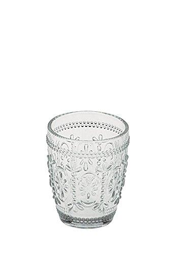 Anton Studio Designs Savoie Juego de 6 Vasos de Cristal Doble Retro Tr
