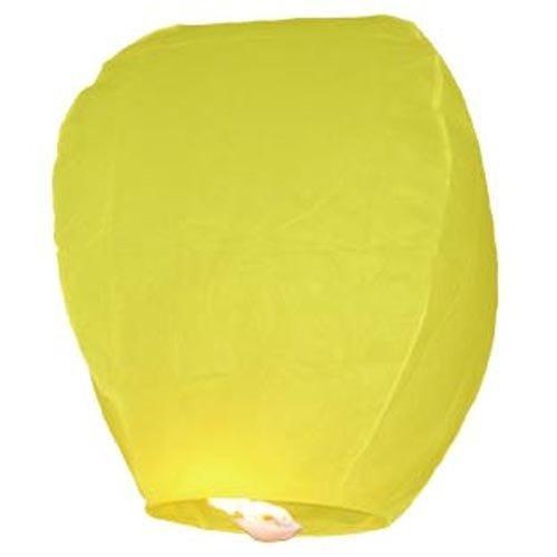 Sky Lantern 10piezas amarillas Linternas Voladoras