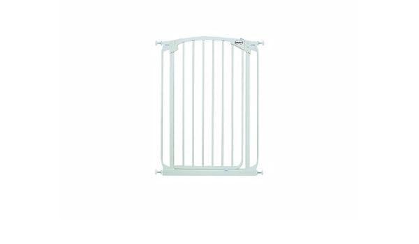 Bindaboo Hallway Pet Gate Swing Closed White Extra-Tall
