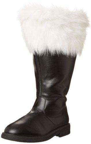 Klassische Herren Wht Santa Pu Schwarz 106wc Faux Stiefel Funtasma Blk Fur PtqdwP