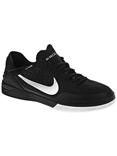 Nike SB Paul Rodriguez 8 black/metallic silver Shoes Black/metallic silver-white