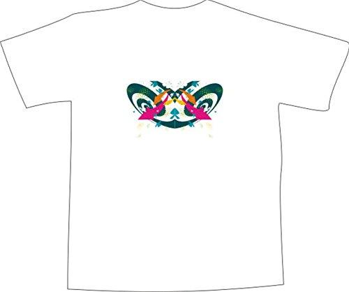 T-Shirt E139 Schönes T-Shirt mit farbigem Brustaufdruck - Logo / Grafik - abstraktes Tribal mit Pfeilen Mehrfarbig
