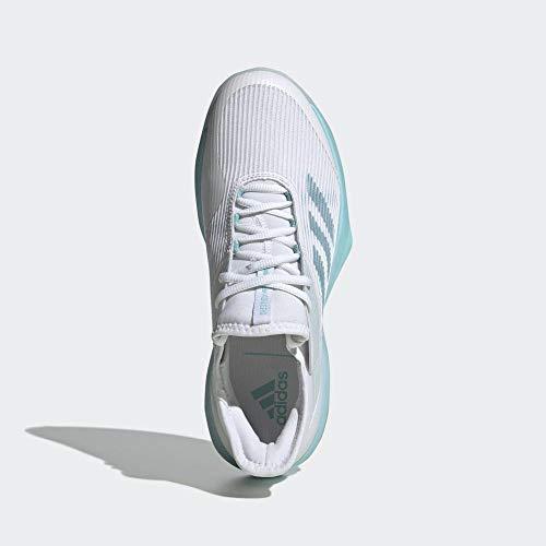 adidas Damen Adizero Ubersonic 3w X Parley Fitnessschuhe, Mehrfarbig (Espazu Ftwbla 000), 38 2/3 EU
