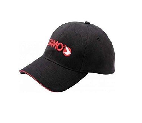 Preisvergleich Produktbild Gamo Schwarz Baseball Kappe mit gewoben Logo und Rem abgeschnitten Hutkrempe - hergestellt aus 100% Baumwolle für Gamo Luftgewehr, Luft Feilen und Pistole users. verstellbarer Gurt auf der Rückseite -