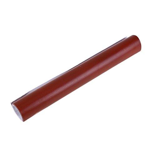 Preisvergleich Produktbild demiawaking Innere Decor ändern Farbe Leder Farbe Konsole Auto Aufkleber braun