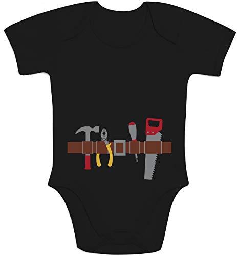 Shirtgeil Handwerker Baby Halloween Kostüm Baby Body Kurzarm-Body 62/68 (3-6M) ()
