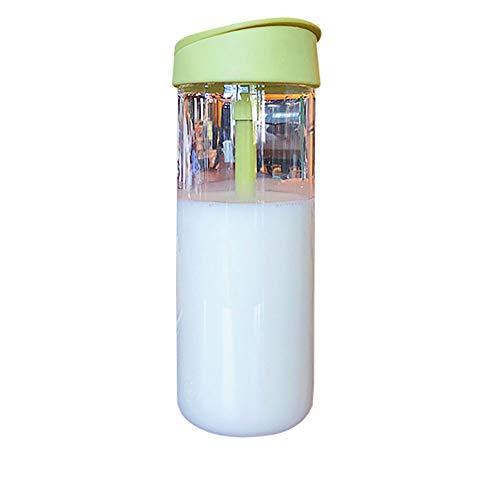 HaiYushop Trinkwasser Mit Milchglas Trinkflasche Outdoor Sport Mit Großer Kapazität Plastikbecher Transparente Gürtelschale Für Die Fitness Einfache Schale des Tragbaren Männlichen Studenten -