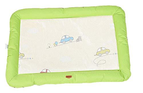 Petsmat Kühlmatte für Hunde, selbstkühlende Kühldecke, Sommer Matte für Kätze, Haustiere Gel-Pads,-Green,M