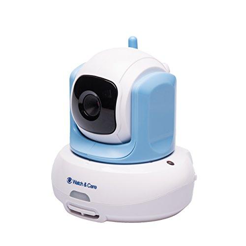 Audioline Watch & Care V300 - Videobabyphone mit automatisch schwenkbarer Kamera - 3
