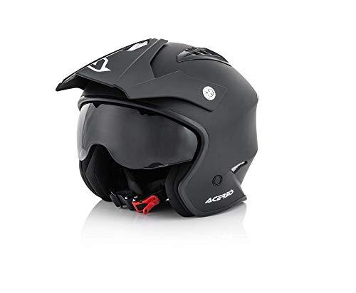 Acerbis casco jet aria nero 2 m