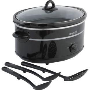 High Quality Crock-Pot SCV655B-IUK 6.5L Slow Cooker – Black.