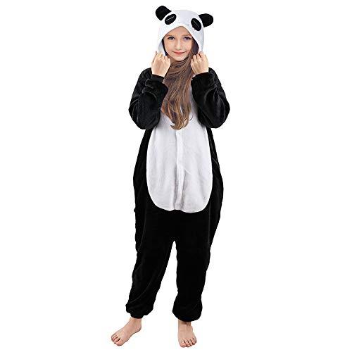 Beinou Einhorn Strampler Pyjamas Flanell Cartoon Kostüm Jumpsuit Nachtwäsche Kinder Schlafanzug Erwachsene Unisex Fasching Cosplay Karneval