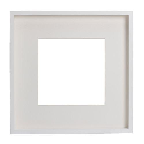 IKEA RIBBA Rahmen in weiß; (50x50x4,5cm)